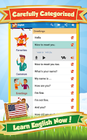 Screenshot of Learn English - Phrase & Vocab