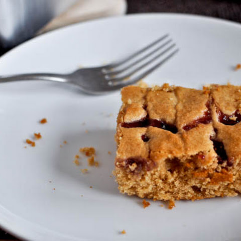 Peanut Butter and Jelly Snack Cake