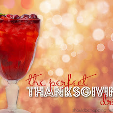 The Perfect Thanksgiving Drink #thanksgiving