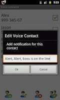 Screenshot of Voice Caller ID + SMS Lite