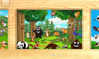 Screenshot of 키즈애니멀퍼즐(와글 고객 전체 무료)