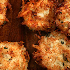 Potato-Turnip Latkes Fried in Duck Fat Recipe
