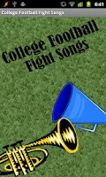 Screenshot of College Football Fight Songs