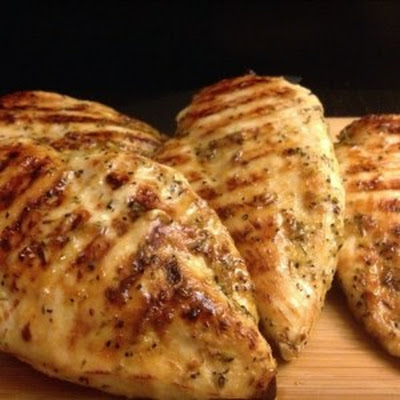Honey/Garlic/Rosemary Glazed Chicken Breasts