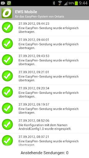 EasyPen-Service für EWS Mobile