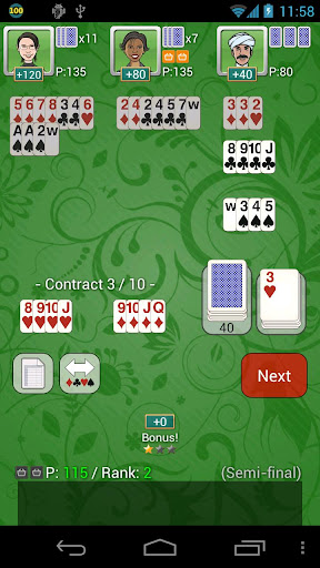 Contract Shanghai Rummy Free