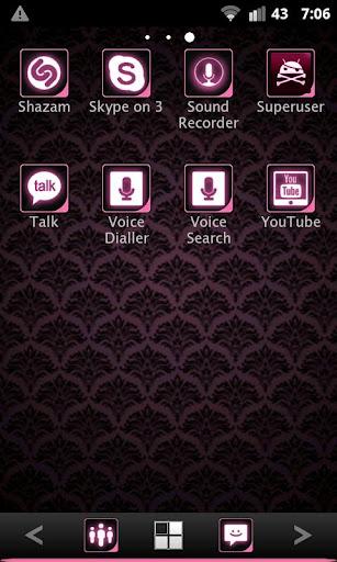 【免費個人化App】ADWTheme Pink Icons-APP點子
