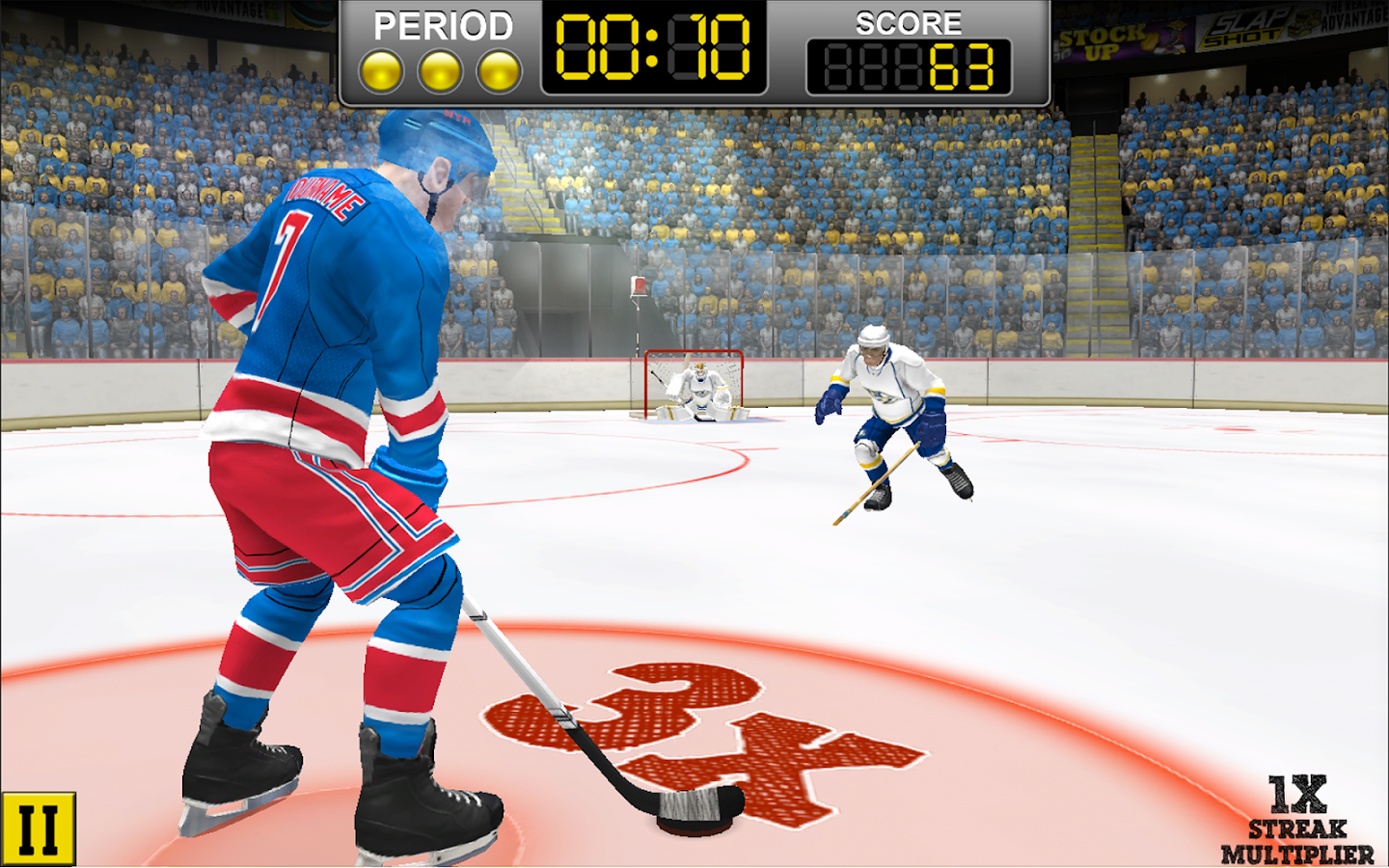 NHL Hockey Target Smash Screenshot 5