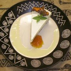 Citrus Cheesecake With Roasted Walnut Praline