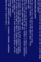 Screenshot of Blue Screen of Death - BSOD