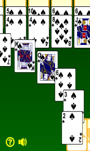 spider-solitaire for android screenshot