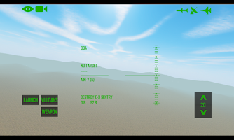 Screenshot of F-15 Flight Sim