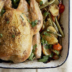 All-in-one Chicken, Potatoes & Green Beans