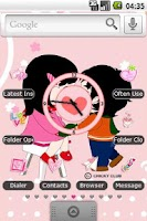 Screenshot of Couple in Love Full Theme