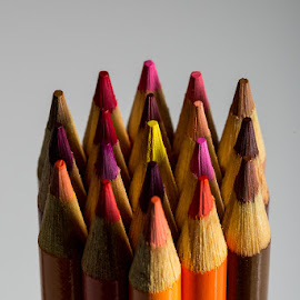 Odd Hue by Michael Holser - Artistic Objects Education Objects ( bundle, yellow, crayola, odd, hues, colored pencils )