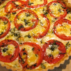 Cheese, Herb & Tomato Tart