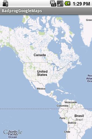 Tuto 1 - GoogleMaps