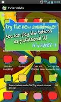 Screenshot of TV Series Mix SoundBoard