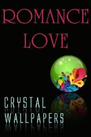 Screenshot of Crystal Romance Love Wallpaper