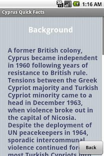 Cyprus Quick Facts - screenshot