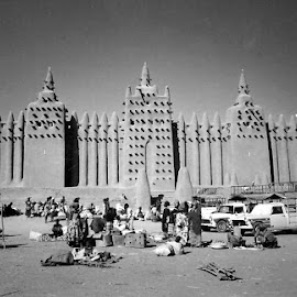 Djenne Mosque, Mali by Siân Oldfield - Buildings & Architecture Places of Worship (  )