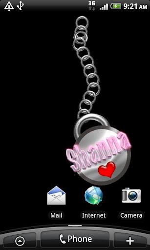 Shanna Name Tag