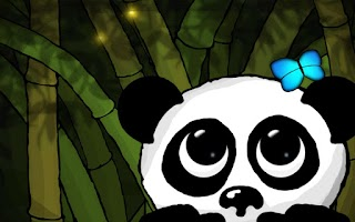 Screenshot of Panda Live Wallpaper Trial