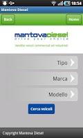 Screenshot of MANTOVADIESEL