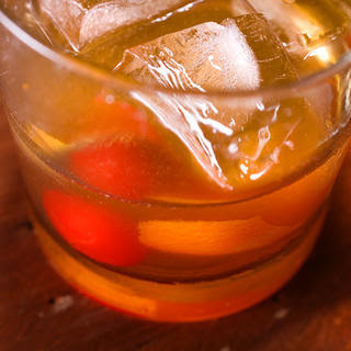 Old-Fashioned Whiskey Cocktail