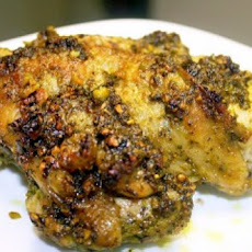 Chicken Breasts with Pistachio-Cilantro Pesto