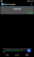 Screenshot of SMS Forwarder