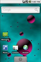 Screenshot of 3D Bubbles Live Wallpaper