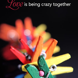 Love & Crazy by Dave Bernard - Typography Words (  )