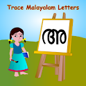 Trace Malayalam Alphabets Kids icon