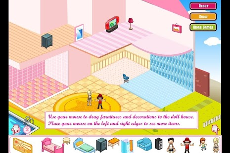 Doll House Decoration- screenshot