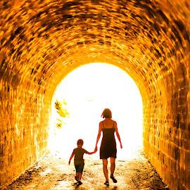 The Tunnel -2- by Laurent Adien - Digital Art People