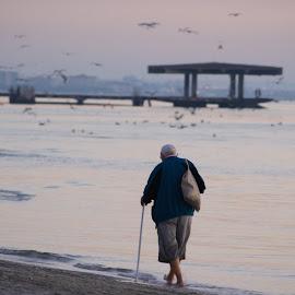 The Old Man and the Sea by Cristian Raifura - People Street & Candids