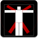 Vitruvian Stickman icon