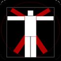Vitruvian Stickman icon