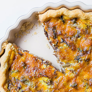 Radicchio and Comté Cheese Tart