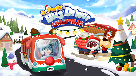 Dr. Panda's Christmas Bus
