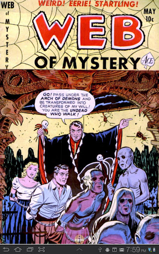 Web of Mystery 9 Comic Book