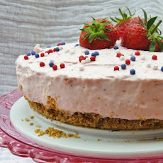 Deep Strawberry Cheesecake