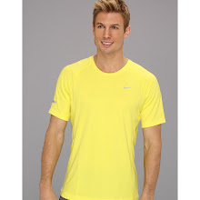 Nike - Miler S/S UV Shirt (Team) (Sonic Yellow/Sonic Yellow/Reflective Silver) - Apparel