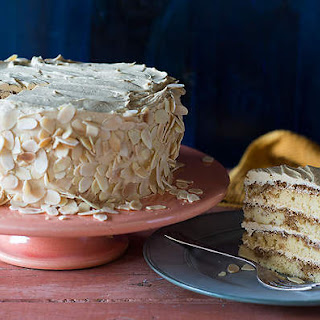 Coffee And Almond Genoise (gateau Moka)