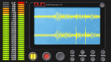 Screenshot of Field Recorder