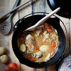 Beer-Braised Chicken