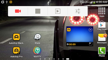 Screenshot of AutoBoy Dash Cam - BlackBox