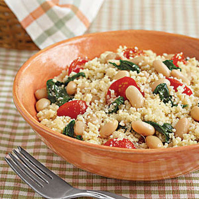 Veggie Couscous with White Beans