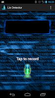 Screenshot of Voice Lie Detector